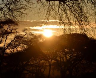 Sunset at Sanctuary Kusini