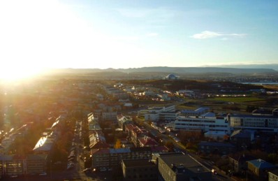 View from the Hallsgrímskirkja